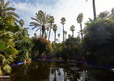 Das Anwesen von Yves Saint Laurent – Jardin Majorelle