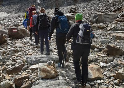 Organisierte Alpenüberquerung
